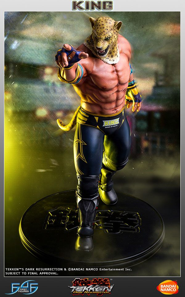 Tekken 5 Dark Resurrection Statue 1/4 King II 49 cm