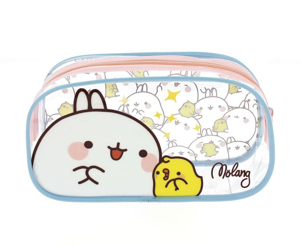 Molang Pencil Case / Make Up Bag Molang