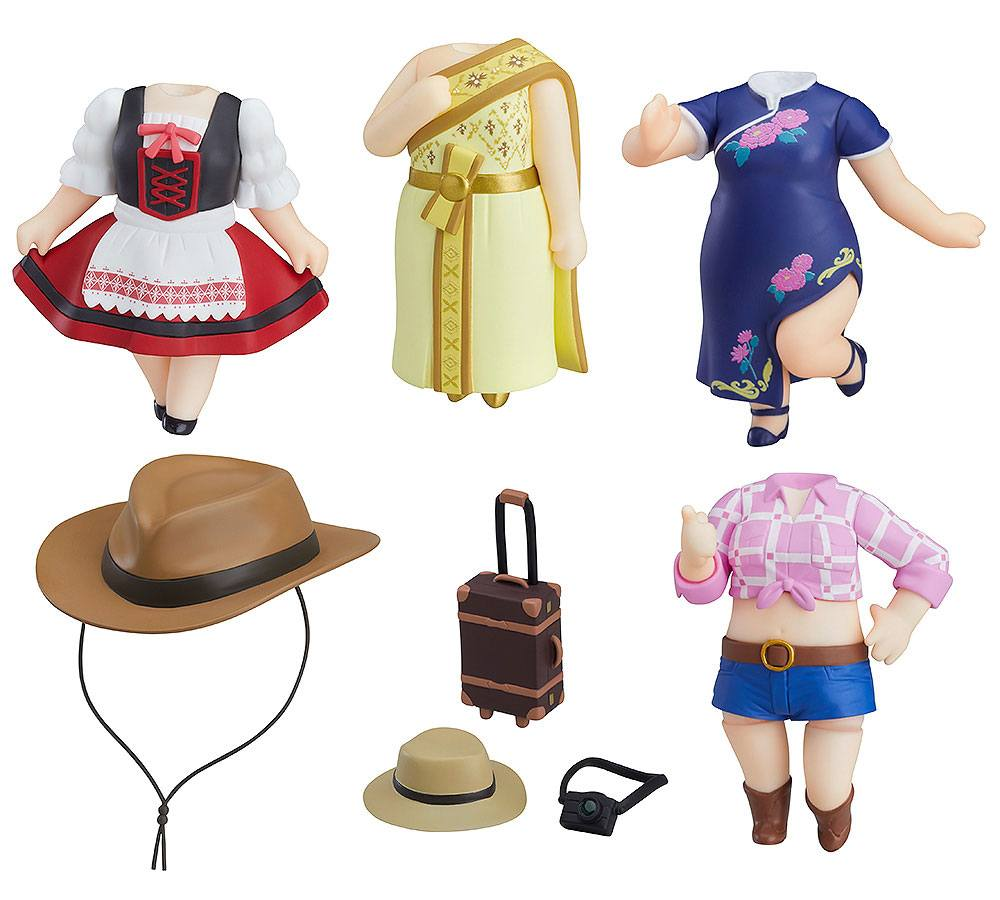 LoveLive!Sunshine!! Nendoroid More 5-pack Decorative Parts World Image Girls Vol. 2