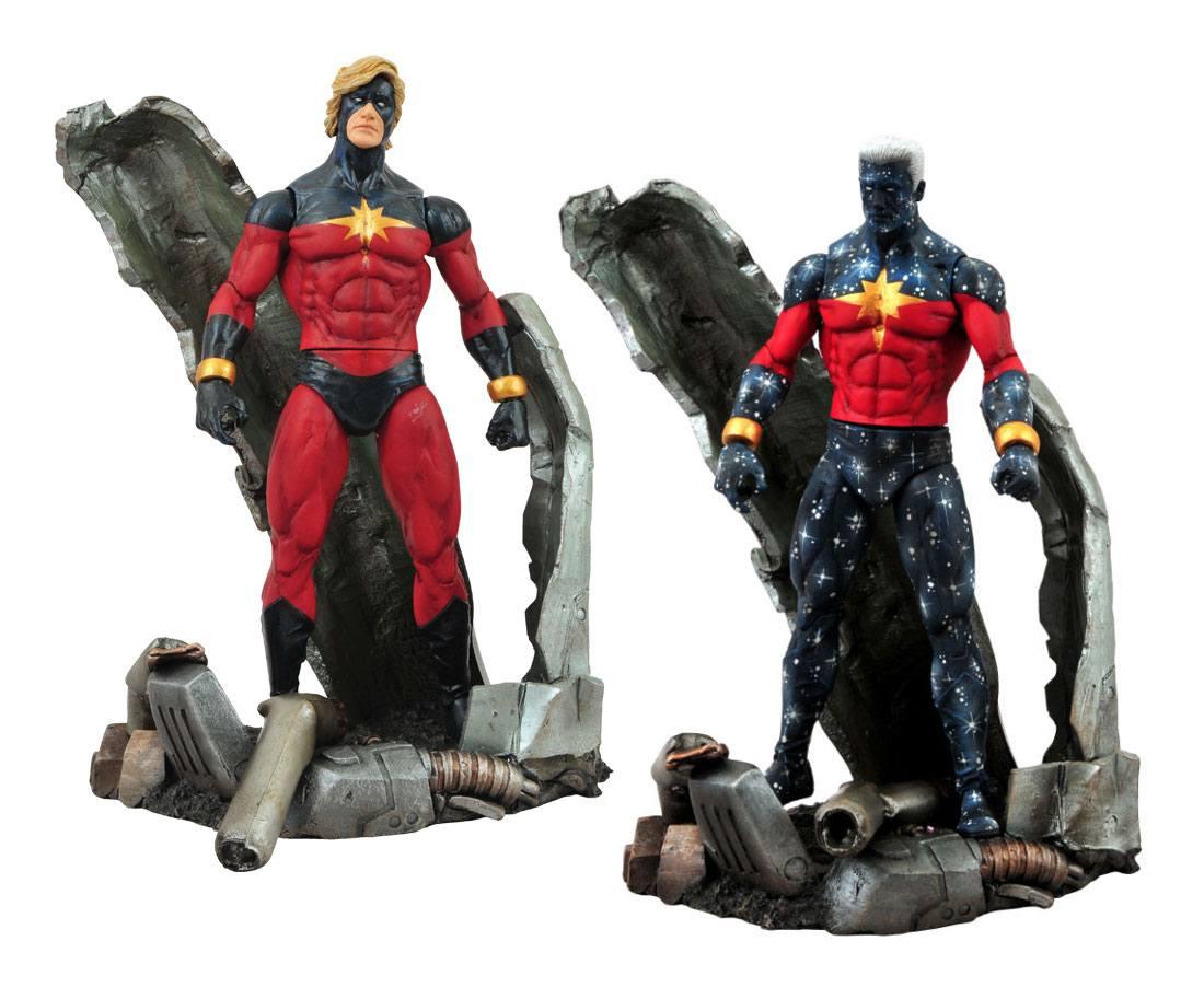Marvel Select Action Figures 18 cm Captain Marvel Assortment (6)