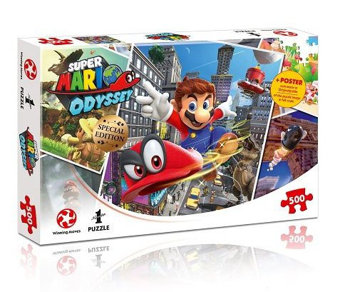 Super Mario Odyssey Jigsaw Puzzle World Traveler