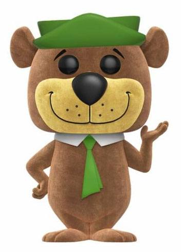 Hanna-Barbera POP! Animation Vinyl Figure Yogi Bear (Flocked) 9 cm