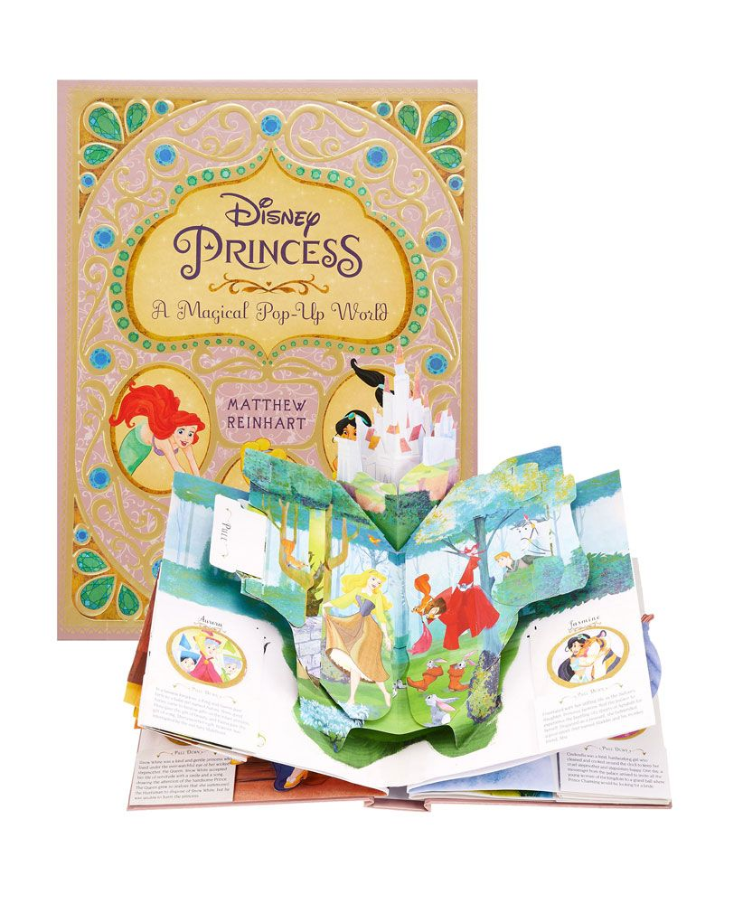 Disney Princess 3D Pop-Up Book A Magical Pop-Up World