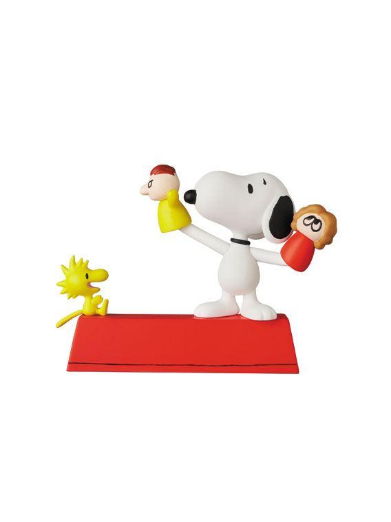Peanuts UDF Series 11 Mini Figures Puppet Snoopy & Woodstock 10 cm