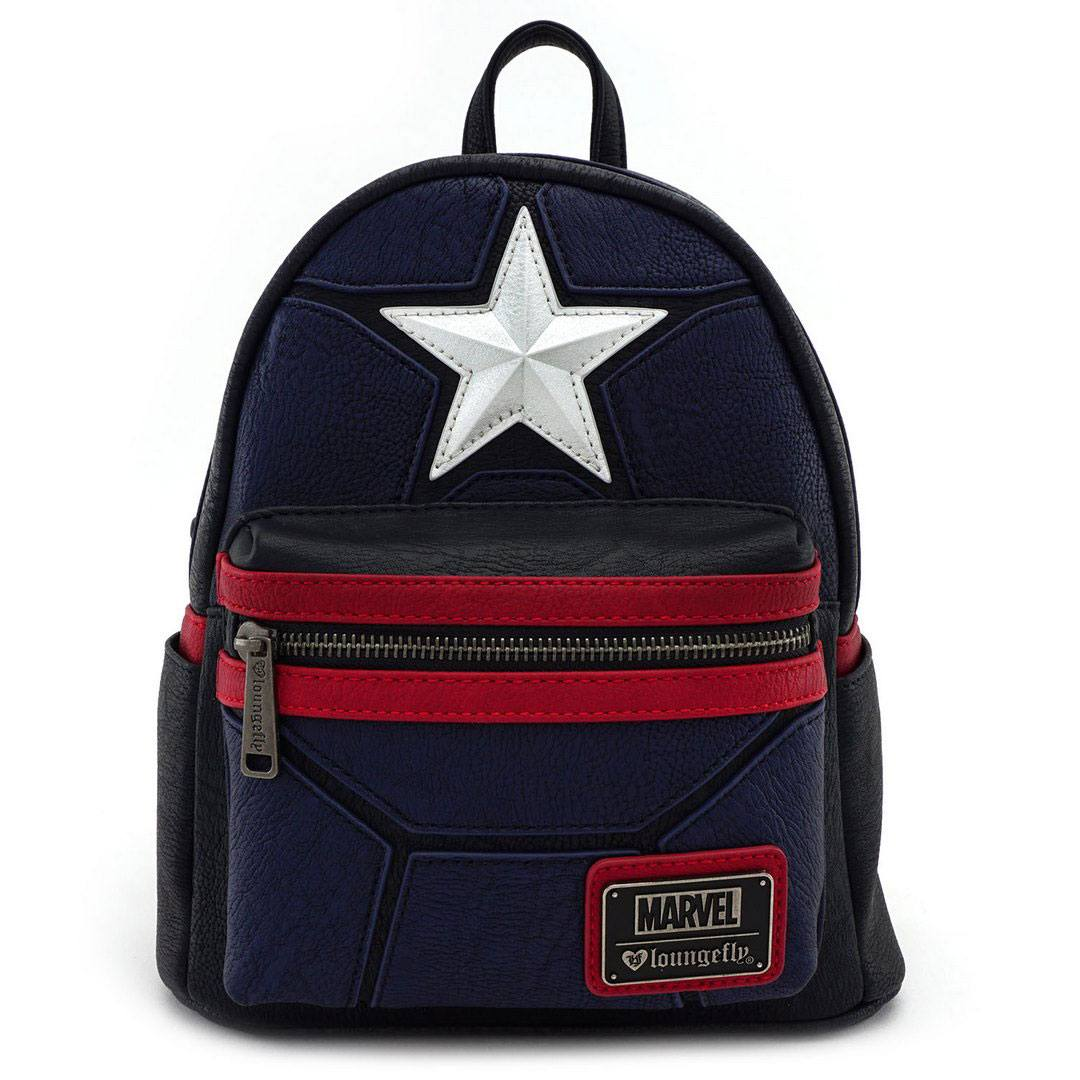 Marvel by Loungefly Backpack Captain America Cosplay