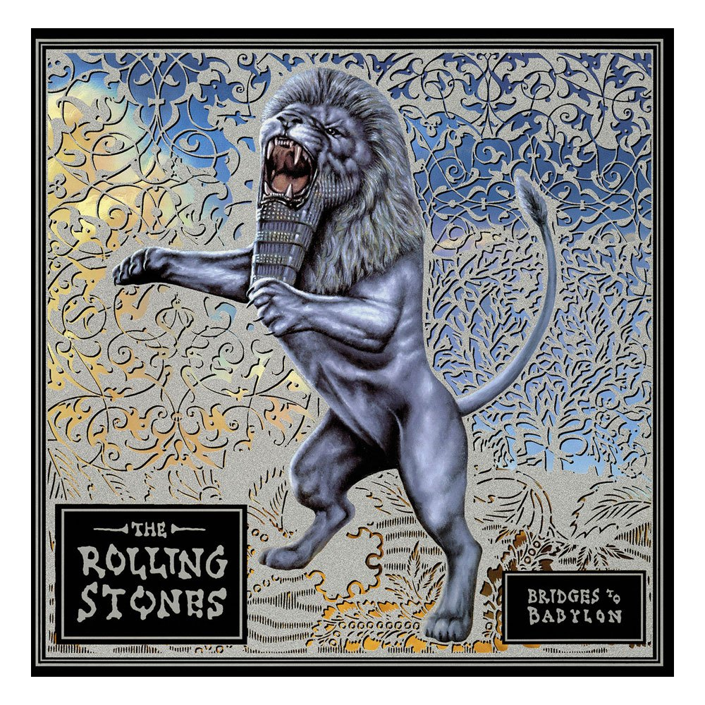The Rolling Stones Rock Saws Jigsaw Puzzle Bridges To Babylon (500 pieces)