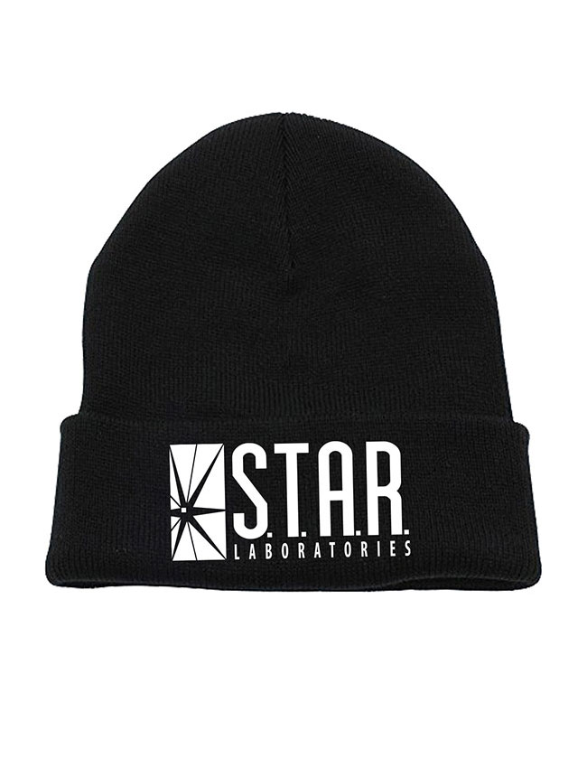 Flash Beanie Star Labs Logo