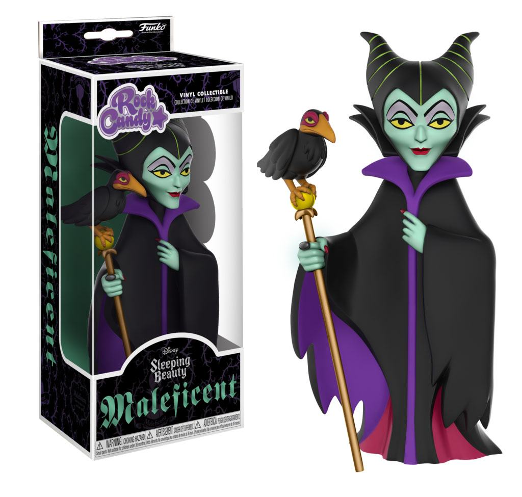 Disney Rock Candy Vinyl Figure Maleficent 13 cm