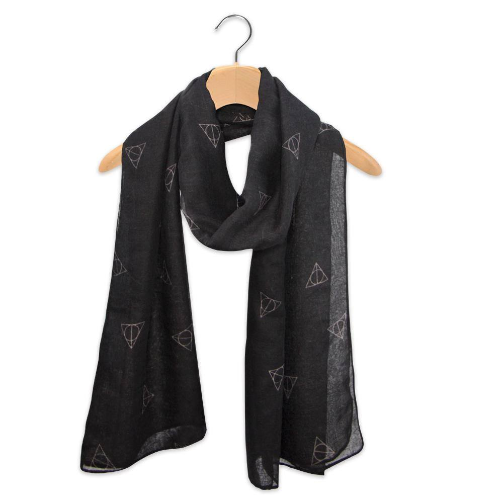 Harry Potter Lightweight Scarf Deathly Hallows