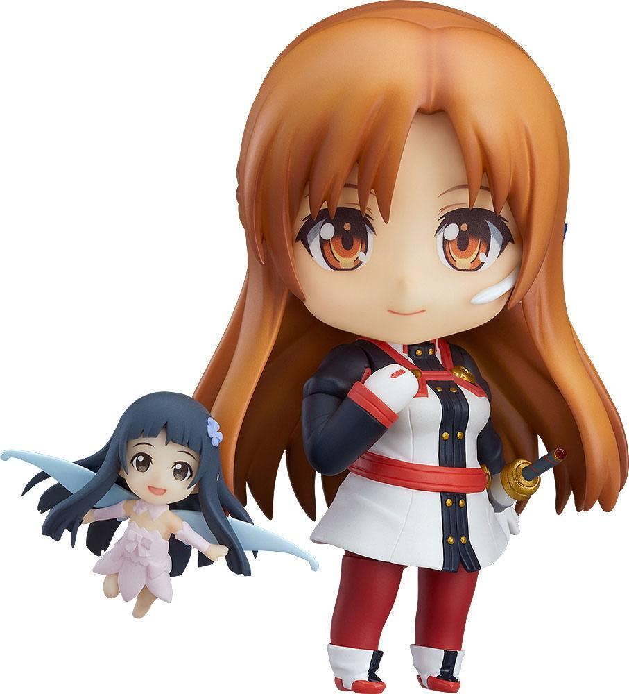 Sword Art Online Ordinal Scale Nendoroid PVC Action Figure Asuna & Yui Ordinal Scale Ver. 10 cm