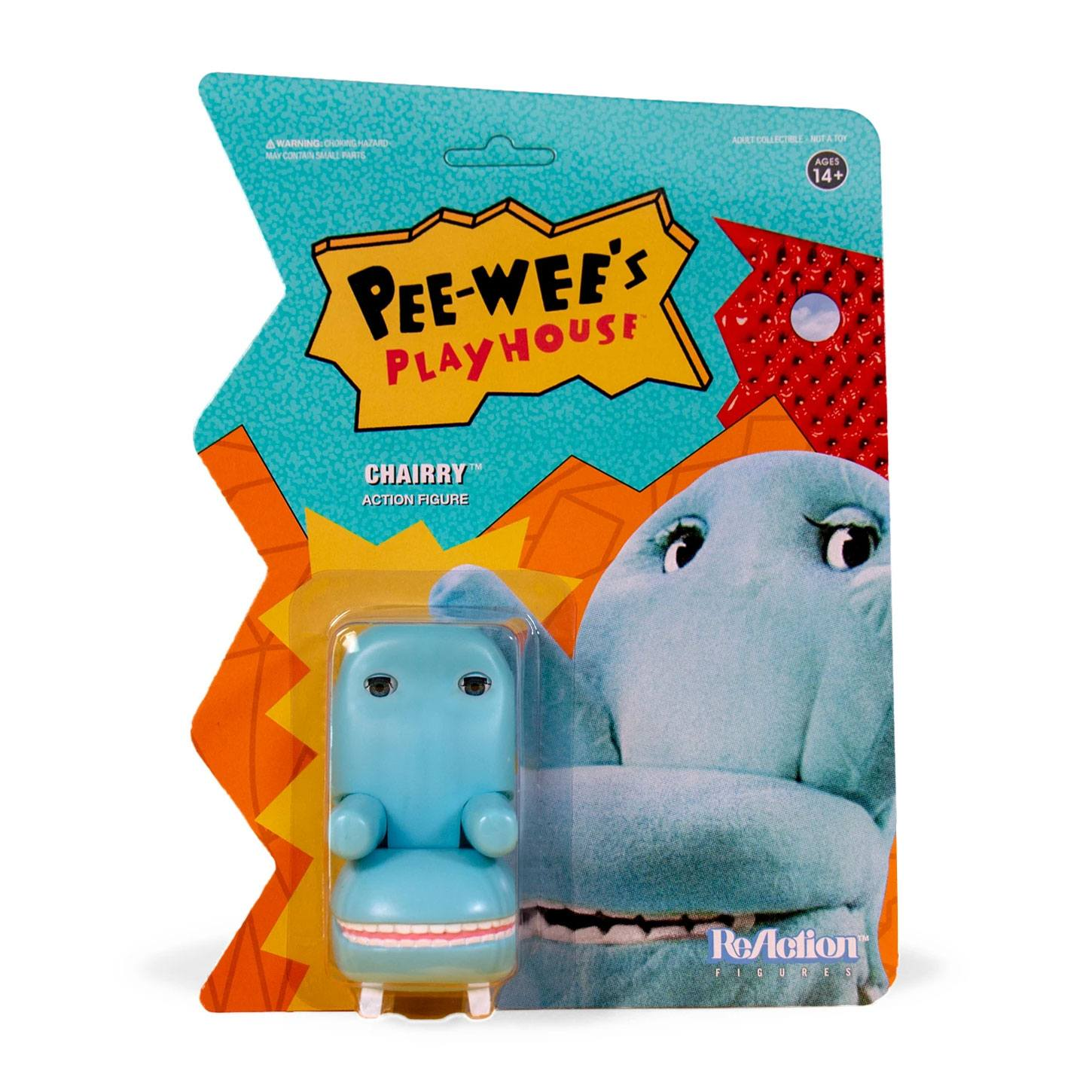 Pee-wee's Playhouse ReAction Action Figure Chairry 10 cm