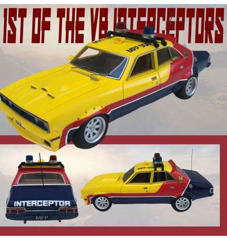 1st of the V8 Interceptors Diecast Model 1/18 1973 XB Ford Falcon V8 Police Interceptor