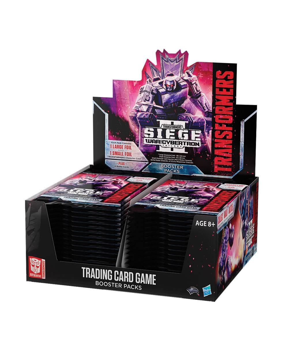 Transformers TCG Booster War for Cybertron Siege II Display (30) english