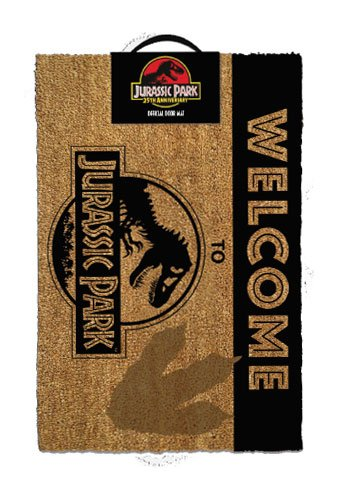 Jurassic Park Doormat Welcome To Jurassic Park 40 x 60 cm