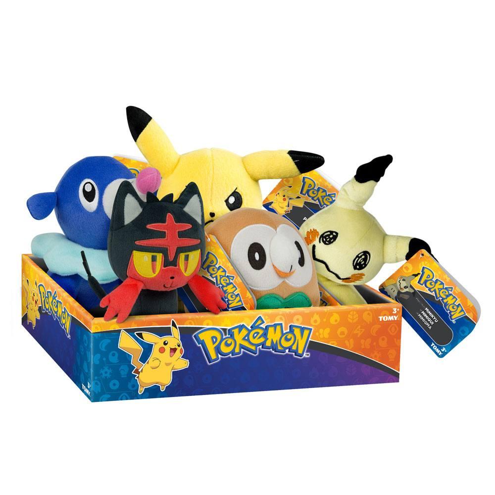 Pokemon Plush Figures 20 cm D16 Display (6)