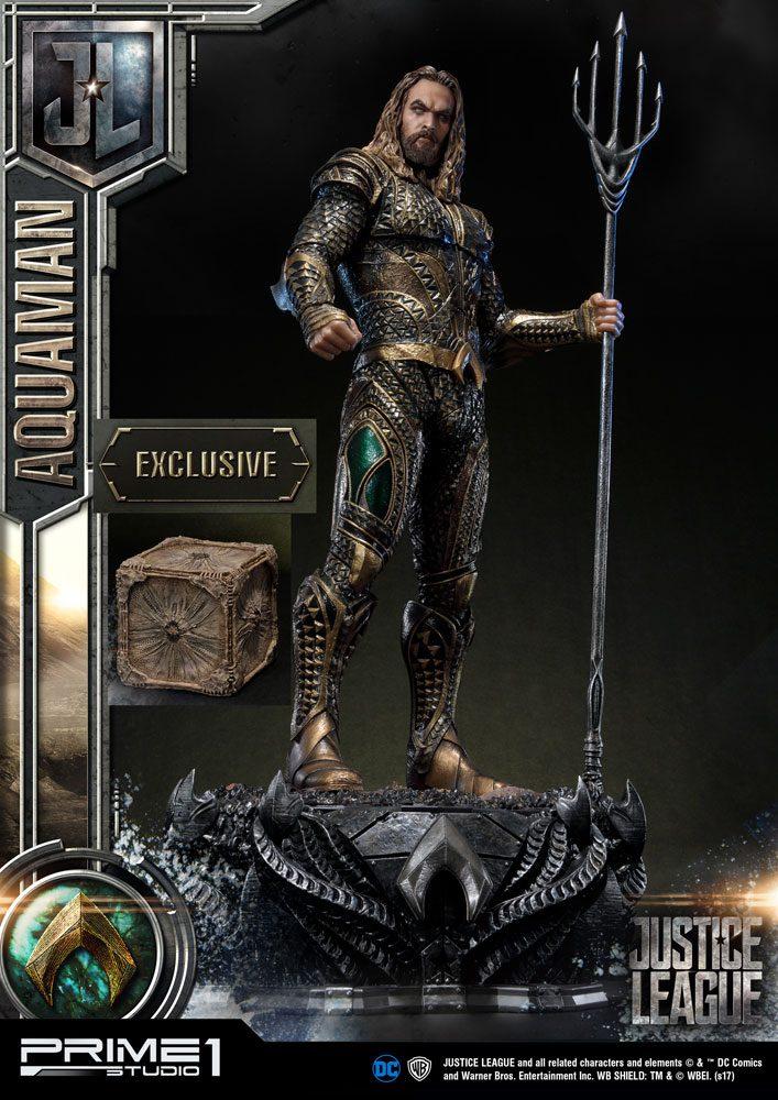 Justice League Statues Aquaman & Aquaman Exclusive 88 cm Assortment (3)