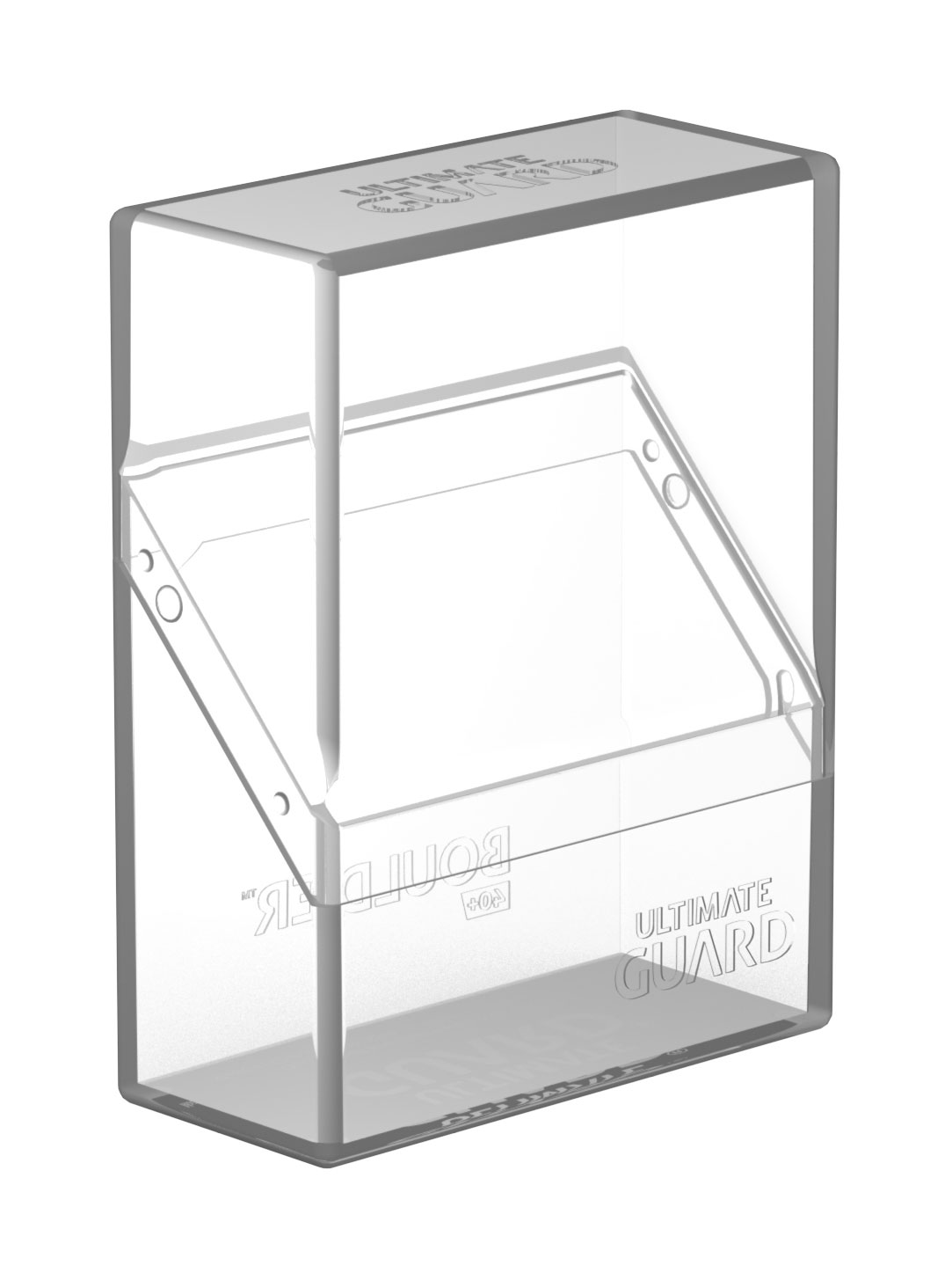 Ultimate Guard Boulder™ Deck Case 40+ Standard Size Clear