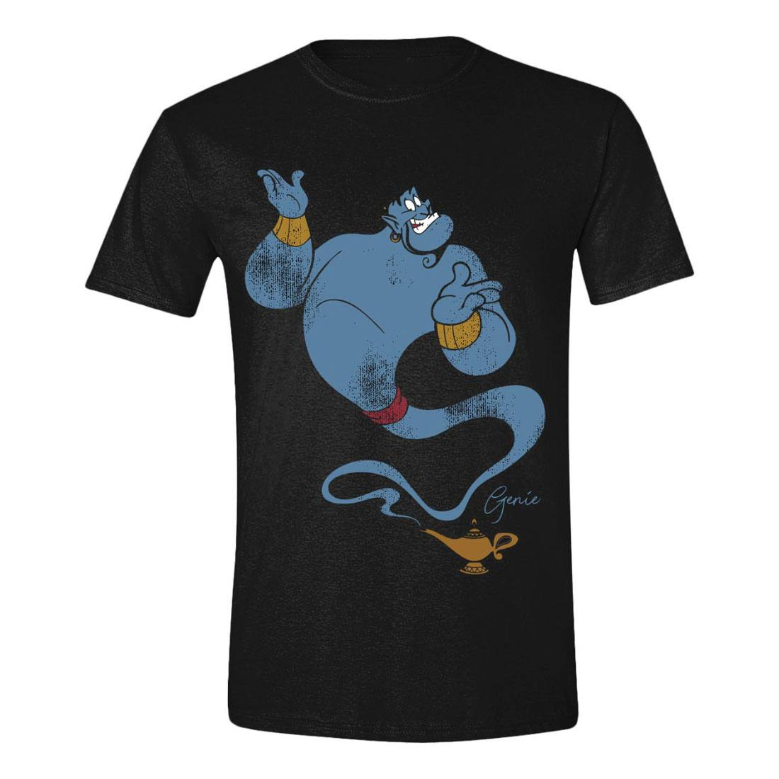 Aladdin T-Shirt Classic Genie Size L