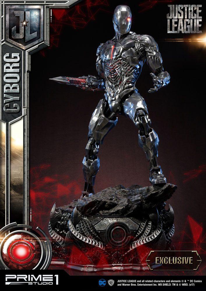 Justice League Statues Cyborg & Cyborg Exclusive 85 cm Assortment (3)