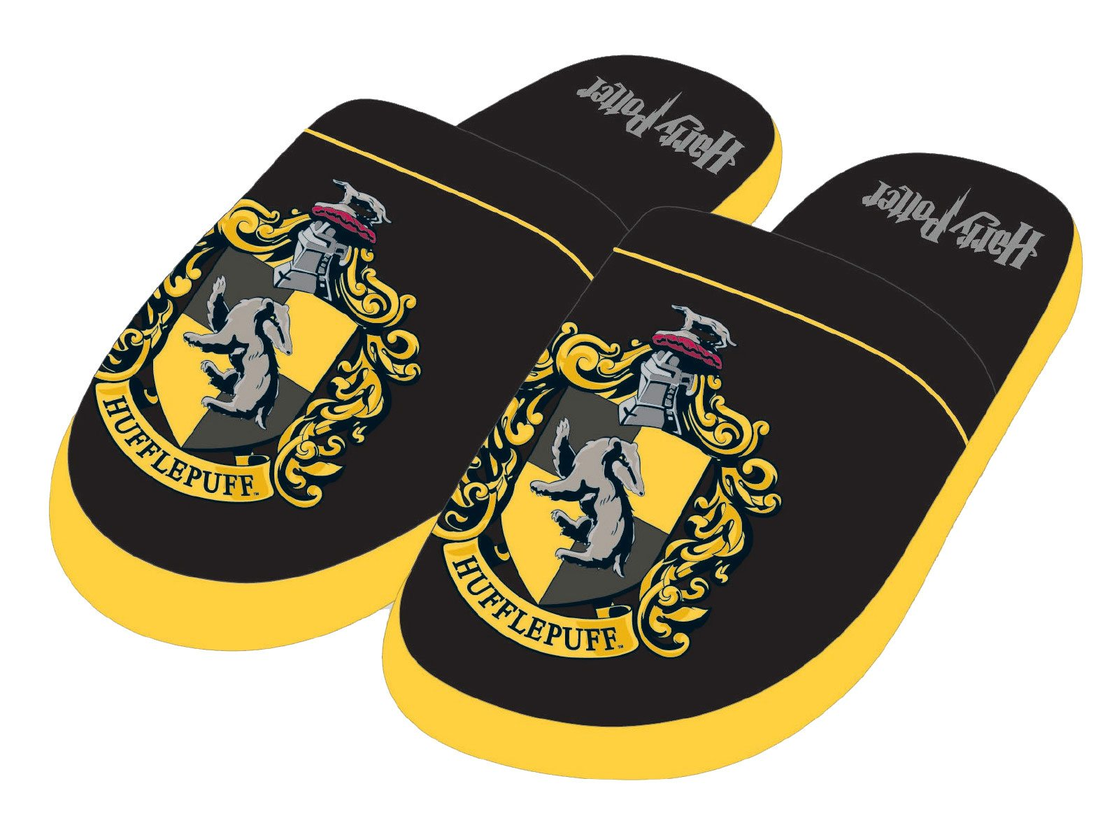 Harry Potter Slippers Hufflepuff Size L