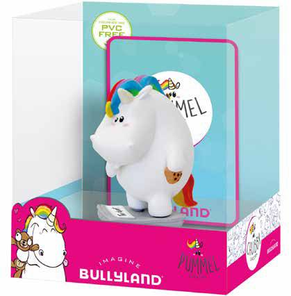 Chubby Unicorn Figure Chubby Unicorn on scale Single Pack 6 cm
