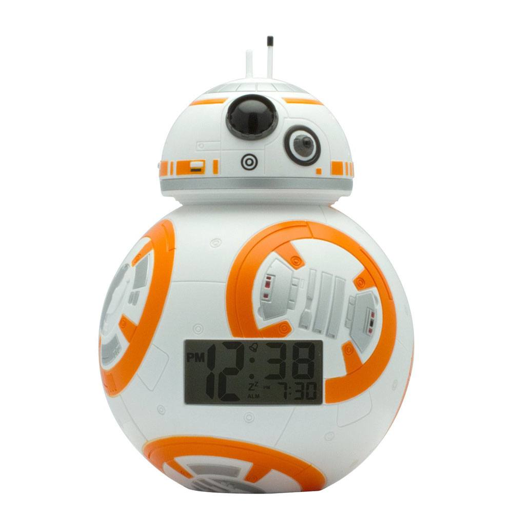 Star Wars Episode VII BulbBotz Alarm Clock with Light BB-8 19 cm