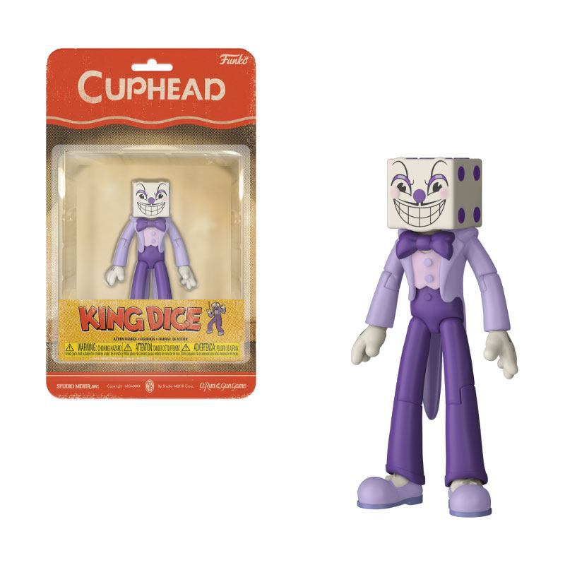 Cuphead Action Figure King Dice 10 cm
