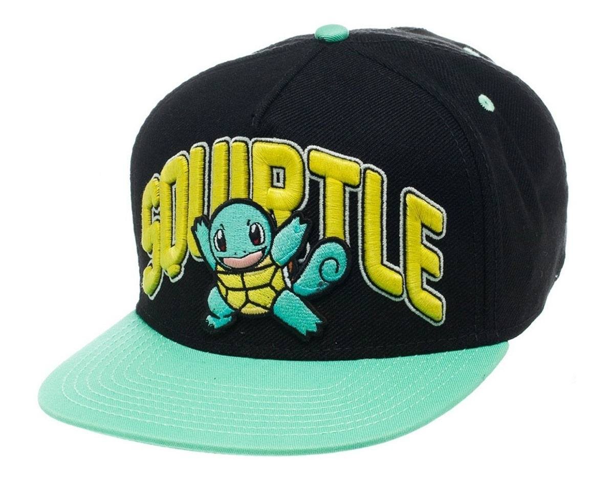 Pokemon Snap Back Baseball Cap Squirtle