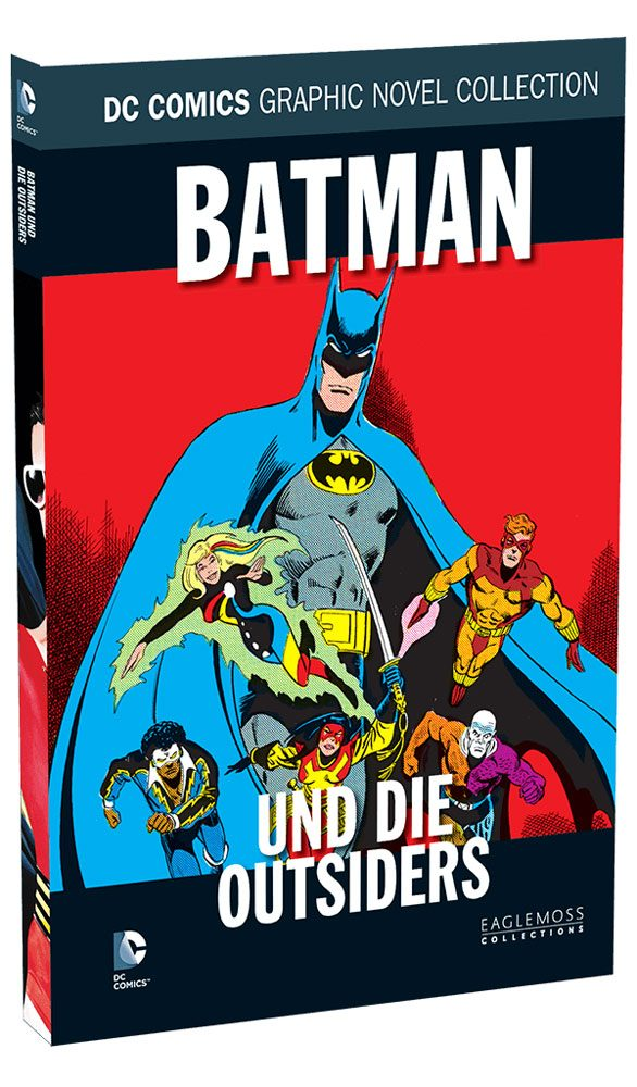DC Comics Graphic Novel Collection #98 Batman: Und die Outsiders Case (12) *German Version*