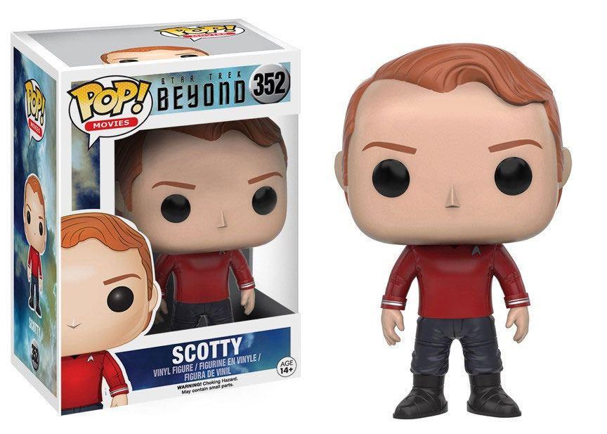 Star Trek Beyond POP! Vinyl Figure Scotty 9 cm