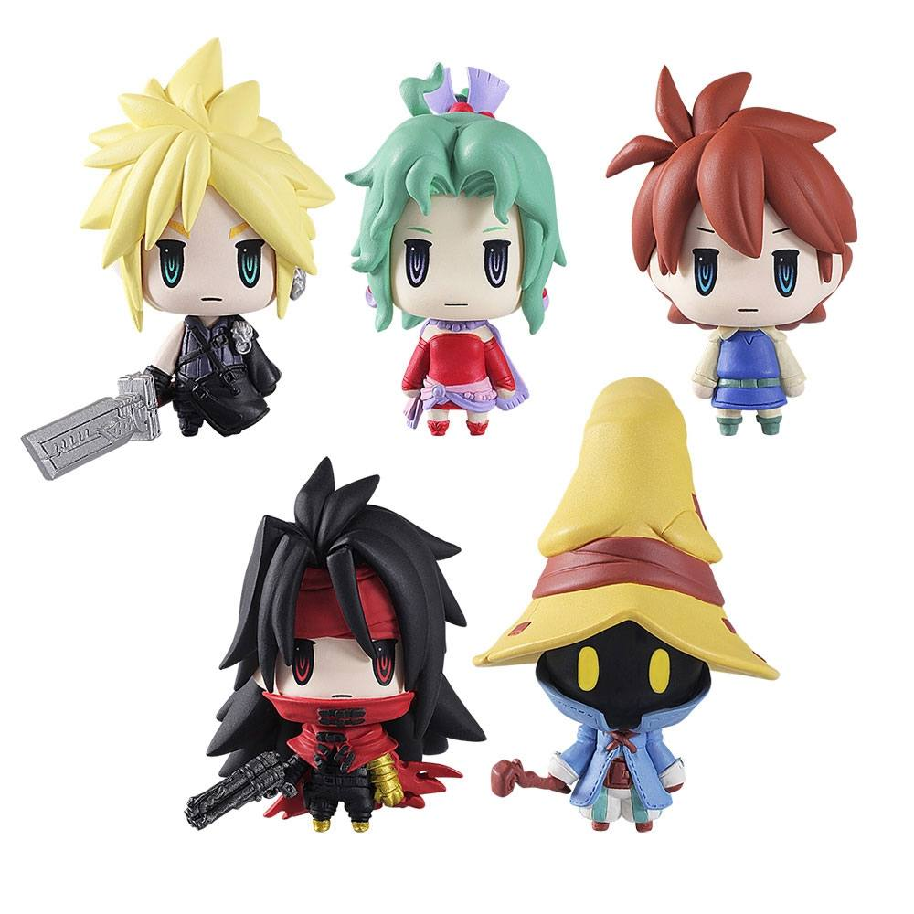 Final Fantasy Trading Arts Mini Figures 5 cm Vol. 2 Assortment (6)