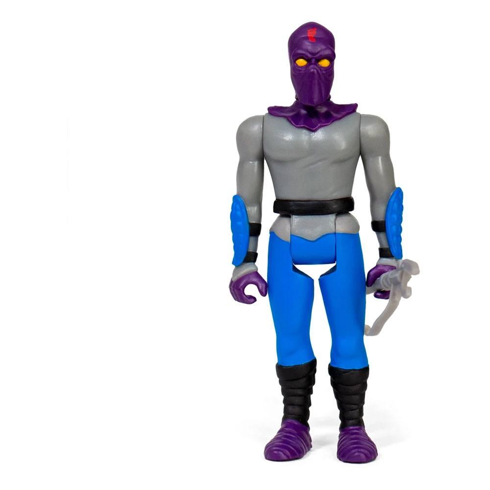 Teenage Mutant Ninja Turtles ReAction Action Figure Foot Soldier 10 cm