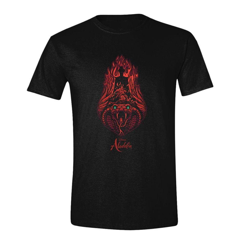Aladdin T-Shirt Jafar Fire Size XL