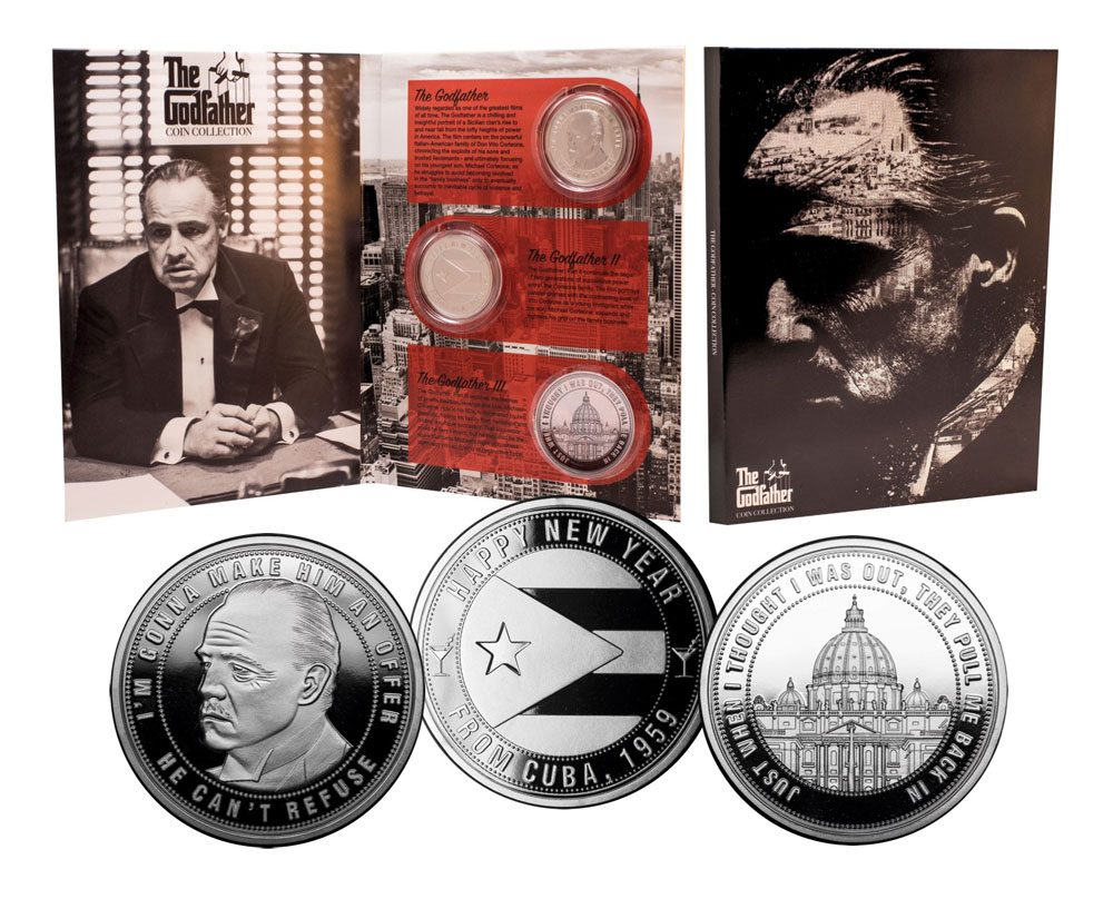 The Godfather Collectable Coin 3-Pack