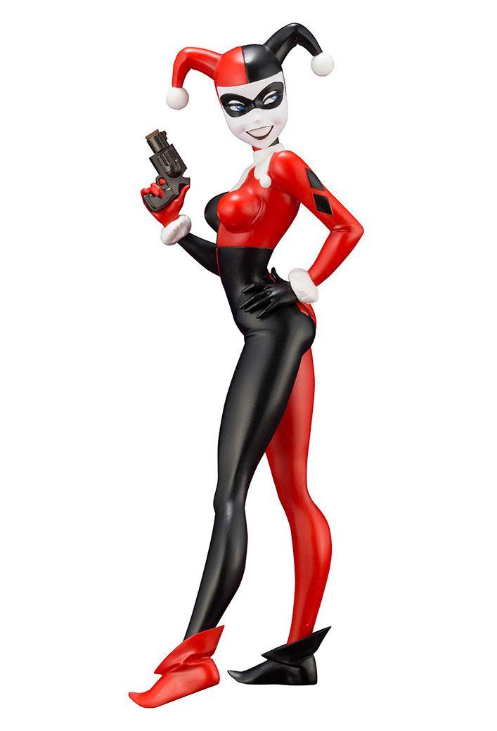DC Comics ARTFX+ PVC Statue 1/10 Harley Quinn (Batman: The Animated Series) 16 cm