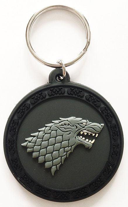 Game of Thrones Rubber Keychain Stark 6 cm