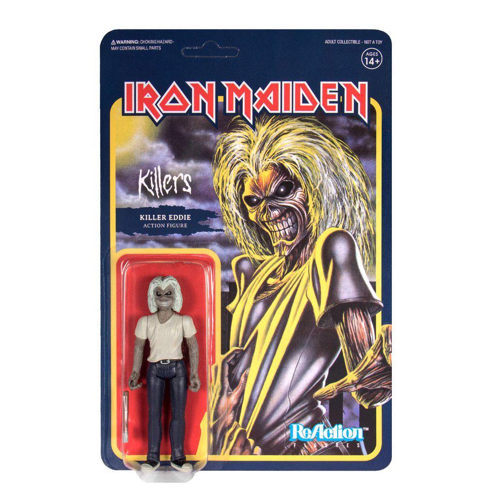 Iron Maiden ReAction Action Figure Killers (Killer Eddie) 10 cm