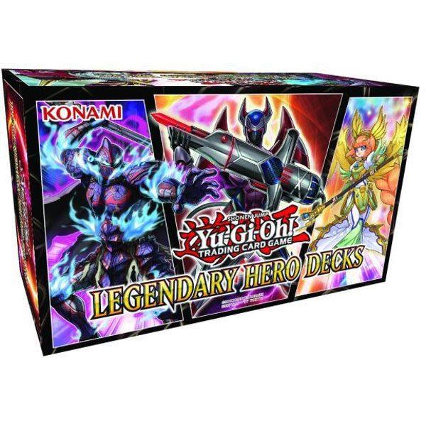 Yu-Gi-Oh! Box Set Legendary Hero Decks Display (6) *German Version*