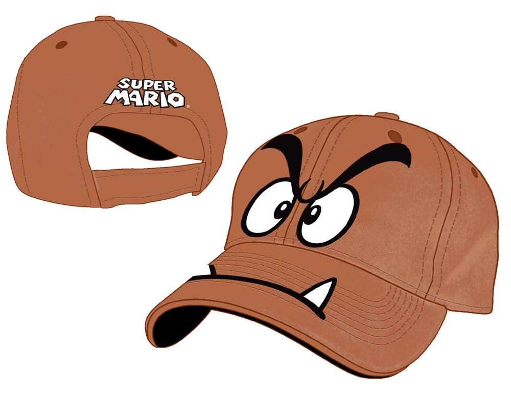 Super Mario Bros. Baseball Cap Goomba