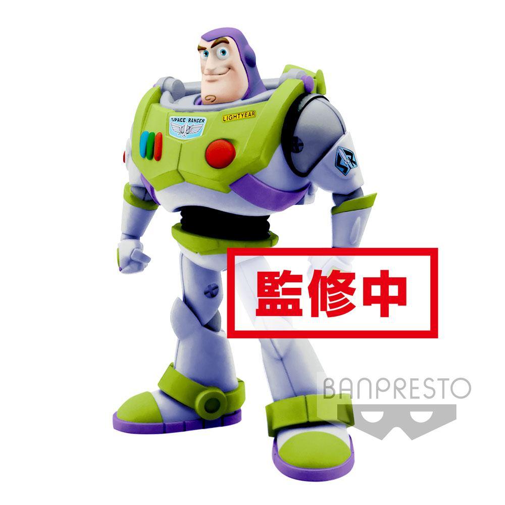 Pixar Comicstars Mini Figure Buzz Lightyear (Toy Story) A Normal Color Version 16 cm