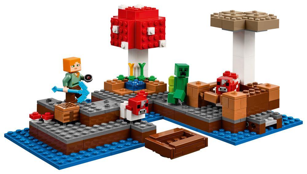 LEGO® Minecraft™ The Mushroom Island