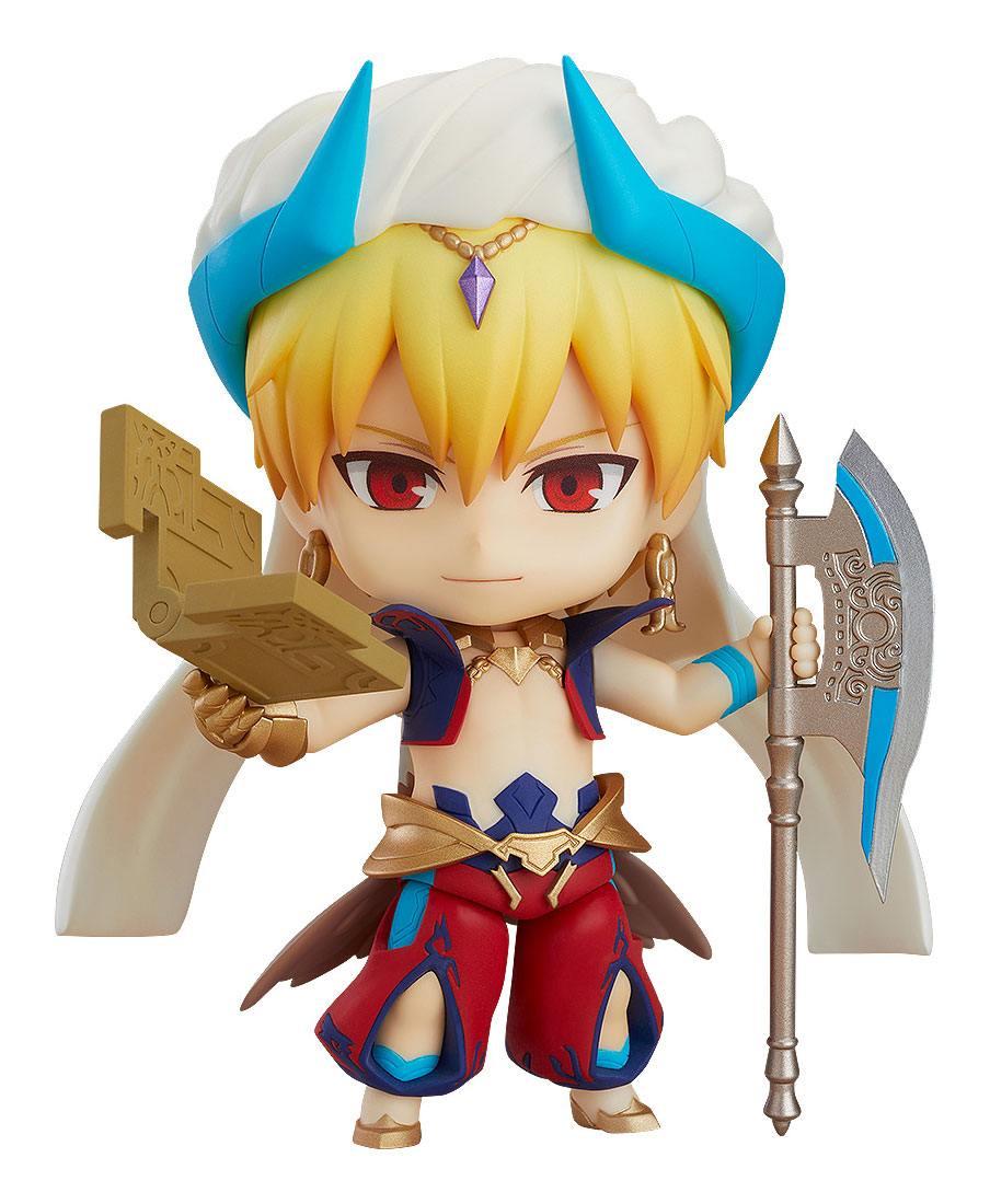 Fate/Grand Order Nendoroid Action Figure Caster/Gilgamesh Ascension Ver. 10 cm