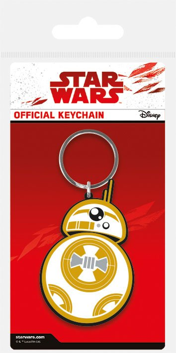 Star Wars Episode VIII Rubber Keychain BB-8 6 cm