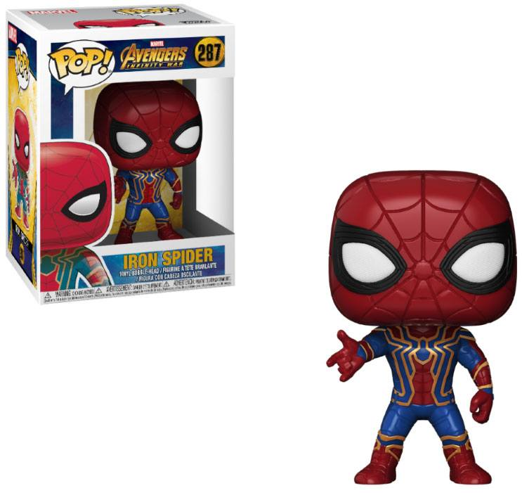 Avengers Infinity War POP! Movies Vinyl Figure Iron Spider 9 cm
