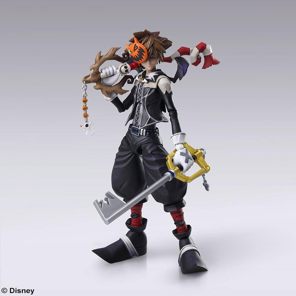 Kingdom Hearts II Bring Arts Action Figure Sora Halloween Town Ver. 15 cm