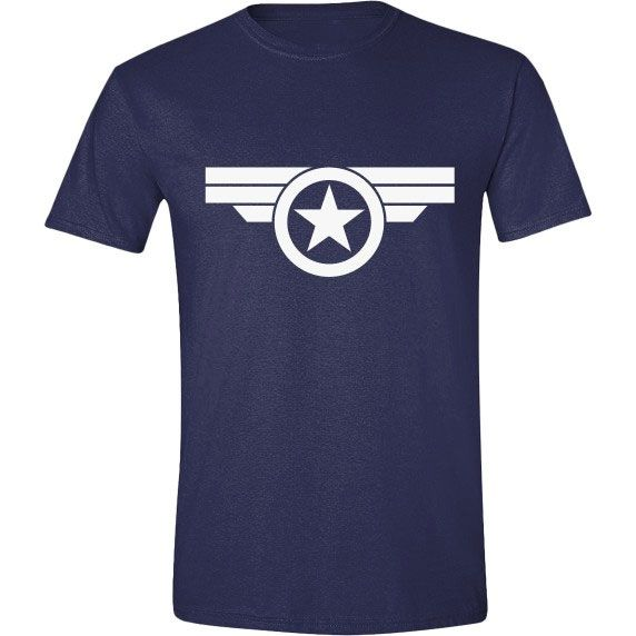 Captain America T-Shirt Super Soldier Logo Size M