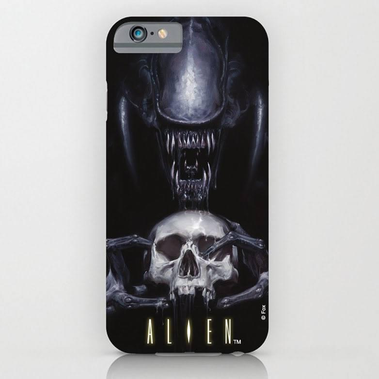 Alien iPhone 6 Plus Case Skull
