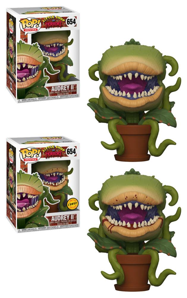 Little Shop of Horrors POP! Movies Vinyl Figures Audrey II 9 cm Assortment (6)