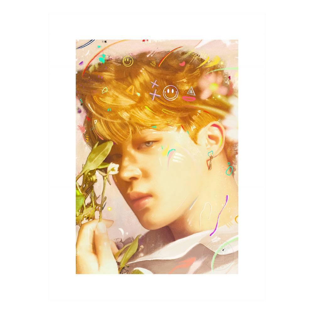 BTS Fine Art Print Love Yourself: Jimin 46 x 61 cm - unframed
