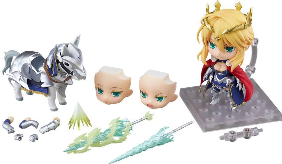 Fate/Grand Order Nendoroid Action Figure Lancer/Altria Pendragon & Dun Stallion 10 cm
